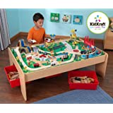 KidKraft Waterfall Mountain Train Set and Table 17850