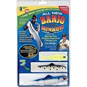 Banjo Minnow 006 - 110 Piece Fishing System