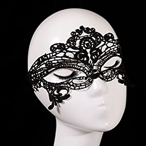 Sexy Lady Women Girl Veil Lace Eye Mask for Grand Halloween Cosplay Masquerade Party Fancy Dress Prom Retro Costume Balls from ASL