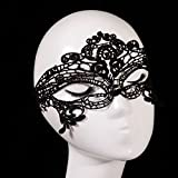 Sexy Lady Women Girl Veil Lace Eye Mask for Grand Halloween Cosplay Masquerade Party Fancy Dress Prom Retro Costume Balls