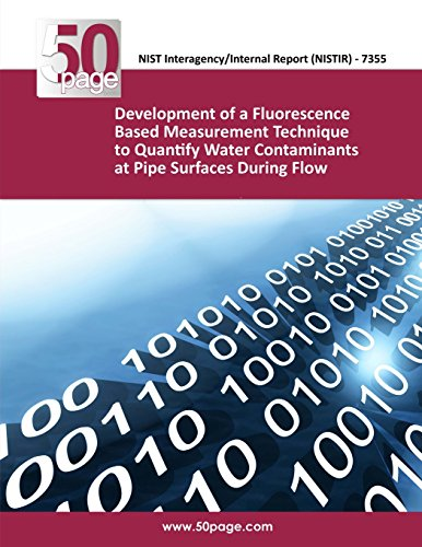 Development of a Fluorescence Based Measurement Technique to Quantify Water Contaminants at Pipe Surfaces During Flow