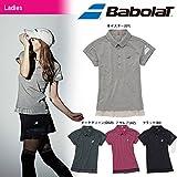 Babolat(バボラ)「Women's レディース ショートスリーブシャツ BAB-1682W」テニスウェア「2016FW」 L ブラック(BK)