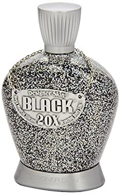 Designer Skin Black Tanning Lotion Ultimat 20X Bronzing Body Silk Mega Magical Silicone Emulsion Black Lotion 13.5 oz