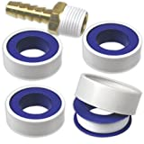 "4-Rolls Teflon Tape Thread & Fitting Sealant 1/2"" x 520"" Roll"