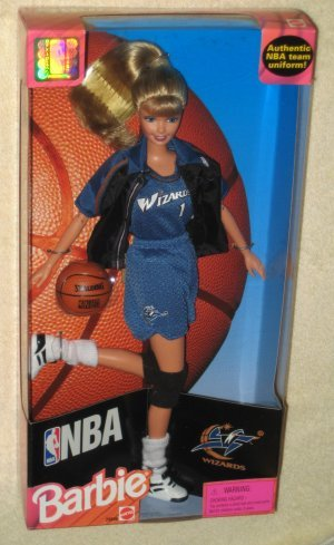 NBA National Basketball Association Wizards Barbie Doll