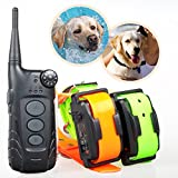 Aetertek At-918 Updated & Submersible Dog Shock Collar for 15-150bs Stubborn Dogs Remote Control Pet Dog Electric Shock Collar for 2 Dogs