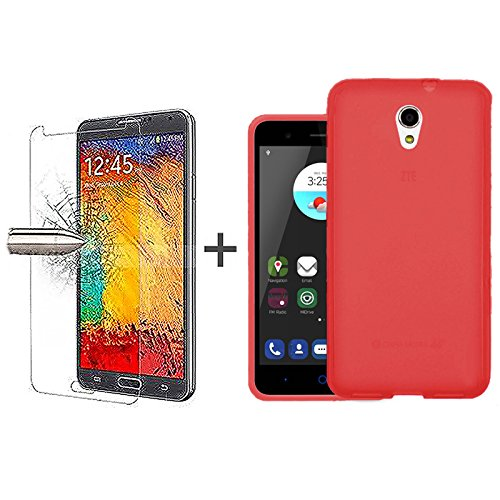 tbocr-pack-red-tpu-silicone-gel-case-tempered-glass-screen-protector-for-zte-blade-v7-52-inches-soft