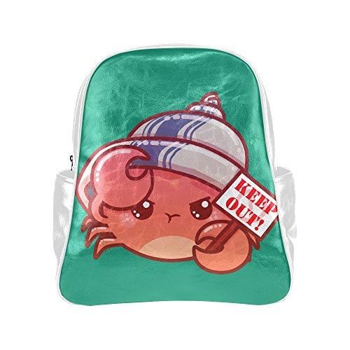 treety-funny-red-crab-white-diy-multi-pocket-backpack-bag