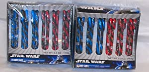 Star Wars Candy Canes 2 Boxes of 12