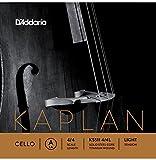 D\'Addario Bowed Corde seule (La) pour violoncelle D\'Addario Kaplan, manche 4/4, tension Medium