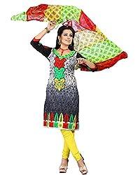 Cenizas embroidered Semi Stich Salwar Suit Duptta ( FSHN 552)