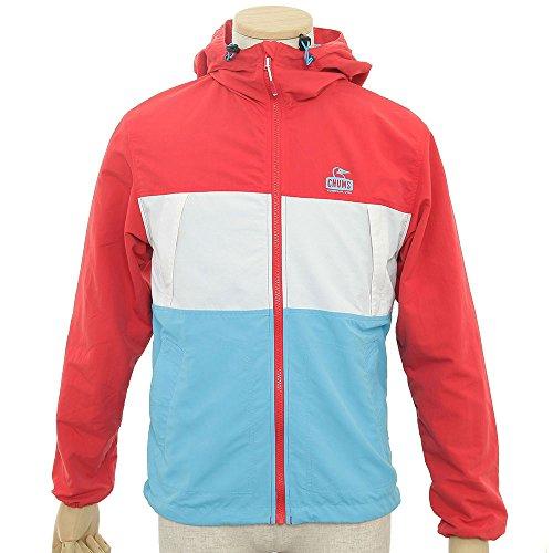 (チャムス)CHUMS Zephyr JKT CH04-0639  Red/White/Blue S