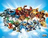 Posters: Skylanders Giants Mini Poster - Spyro, Cynder, Eruptor, Tree-Rex (20 x 16 inches)
