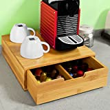Coffee Capsule Box 25 Compartments Storage Organiser