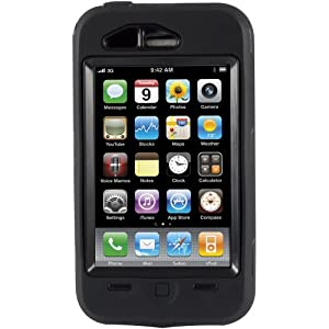 OtterBox Defender Case for Apple iPhone 3G / 3GS - Black