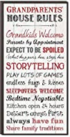 Grandparents' House Rules Mini Print…