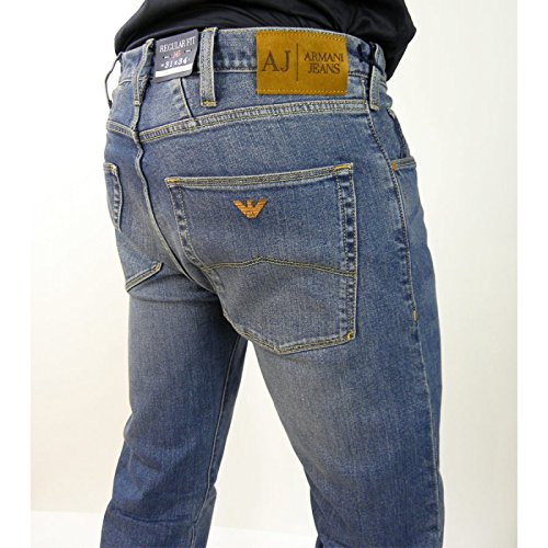 JEANS UOMO, REGULAR, DENIM, ARMANI JEANS, ART. B6J849G (33)
