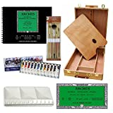 A.I. Friedman Watercolor Painting Kit with Merced Easel