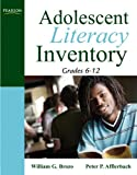 img - for Adolescent Literacy Inventory, Grades 6-12 book / textbook / text book