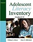 Adolescent Literacy Inventory, Grades...