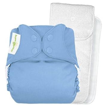 bumGenius 1 Cloth Diaper Wet Bag Small Pink Purple Girl Stripe New 12 x 10.5 in