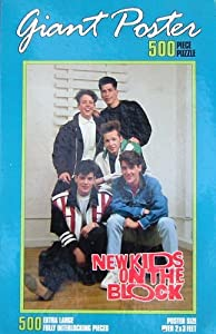 New Kids on the Block 500pc. Giant Poster Puzzle