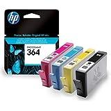HP Photosmart 6520 Original Printer Ink Cartridges (Black, Cyan, Magenta, Yellow)
