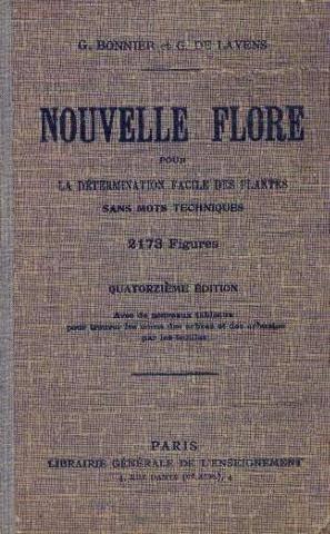 Nouvelle flore pour la détermination facile des plantes de la région parisienne et des espèces communes en France avec l'indication des fleurs mellifères.