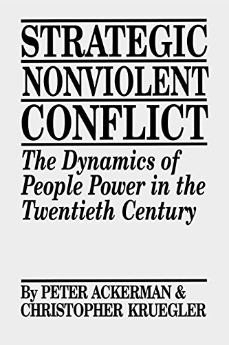 Strategic Nonviolent Conflict: The Dynamics of People Power in the Twentieth Century (Documents in Imperial History; 6)