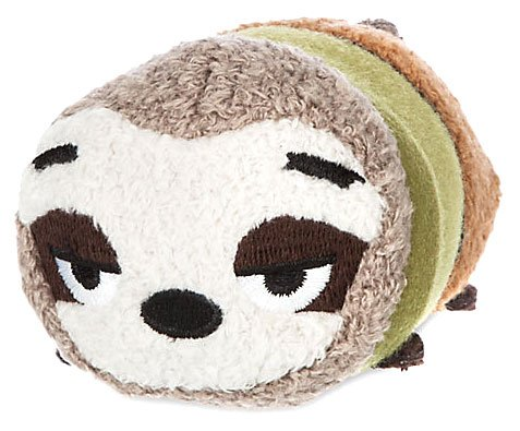 "Disney Tsum Tsum Zootopia Flash 3.5"" Plush [Mini]"