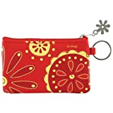Chi Omega ID wallet and key chain coin purse