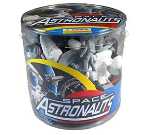 (新品)Space Astronauts Bucket Playset美国宇航局多种玩偶特价$17.99第三方