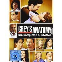 Grey's Anatomy: Die jungen �rzte - Die komplette 5. Staffel [7 DVDs]