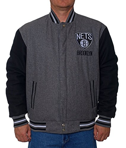 Brooklyn Nets Jacket (XXL) (Brooklyn Nets Car Emblem compare prices)