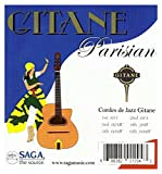 Saga dG - 011 gitane gypsy jazz parisian strings jeu de cordes pour guitares django-style-red label\'amidon 011-048Watt