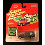 1975 DODGE D-100) * SILVER * Johnny Lightning 2002 BOOGIE VANS Release One 1:64 Scale Die Cast Vehic