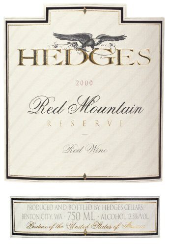 2000 Hedges Family Estate Red Mountain Reserve 750 Ml
