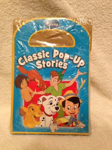 Disney Classic Pop up Stories, Peter Pan, Pinnocchio, Lion King