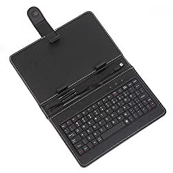 Iball Slide Tablet USB Keyboard Back Cover Case, Flip Cover Case For All 7 Inch Iball Tablets