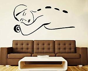 Massage Wall Vinyl Decal Spa Vinyl Sticker Spa Salon