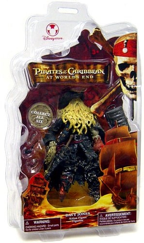 Buy Low Price Disney Pirates of the Caribbean At World's End Disney Exclusive Action Figure Davy Jones (B000QU8LWI)