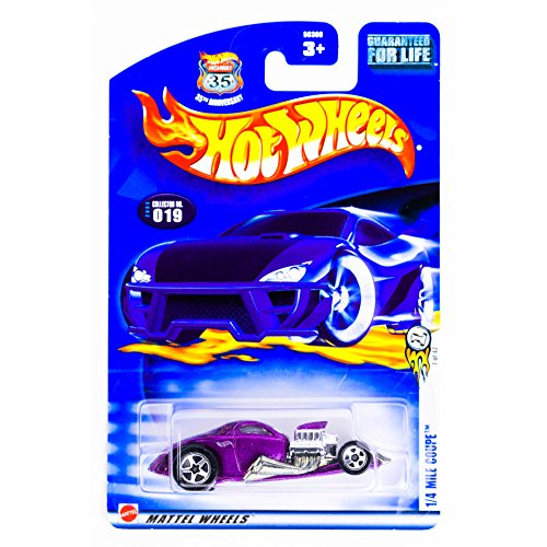 Hot Wheels 2003 First Editions 1/4 Mile Coupe on Alternate Card #019 - 1