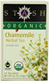 Stash Tea Organic Chamomile Herbal 18 Count Box (Pack of 6)