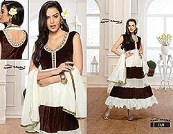 Balaji Fashion Women's net braso long suit -D.NO 1771_Multi-Coloured