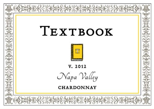 2012 Textbook Chardonnay Napa Valley 750 Ml