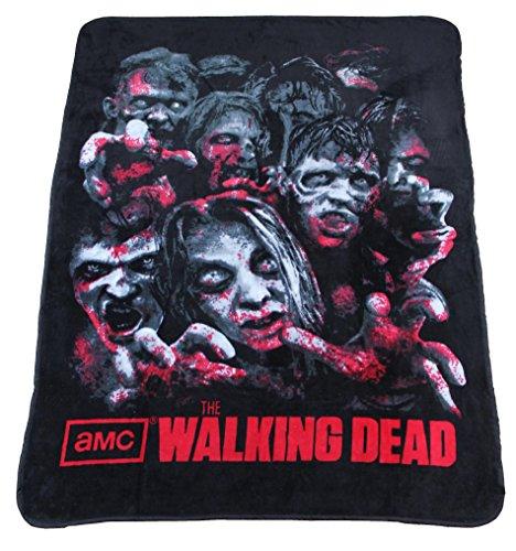 The Walking Dead Soft Fleece Throw Blanket 46