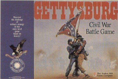 Gettysburg Civil War Battle Game 125th Anniversary Edition (Gettysburg Game compare prices)