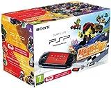 echange, troc Console PSP Noire + ModNation Racers (+ housse + stickers)