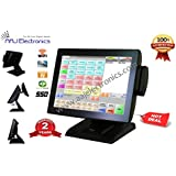 IPOS All In One Touch Screen System fanless 2GB 64GB Restaurant/ Retail POS