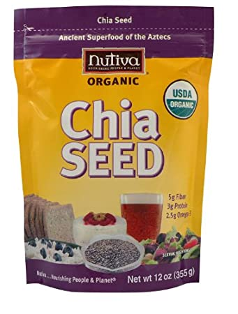 Nutiva 12oz bag of Organic Chia Seeds $5.59